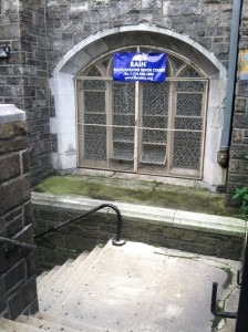 RAIN Tolentine entrance