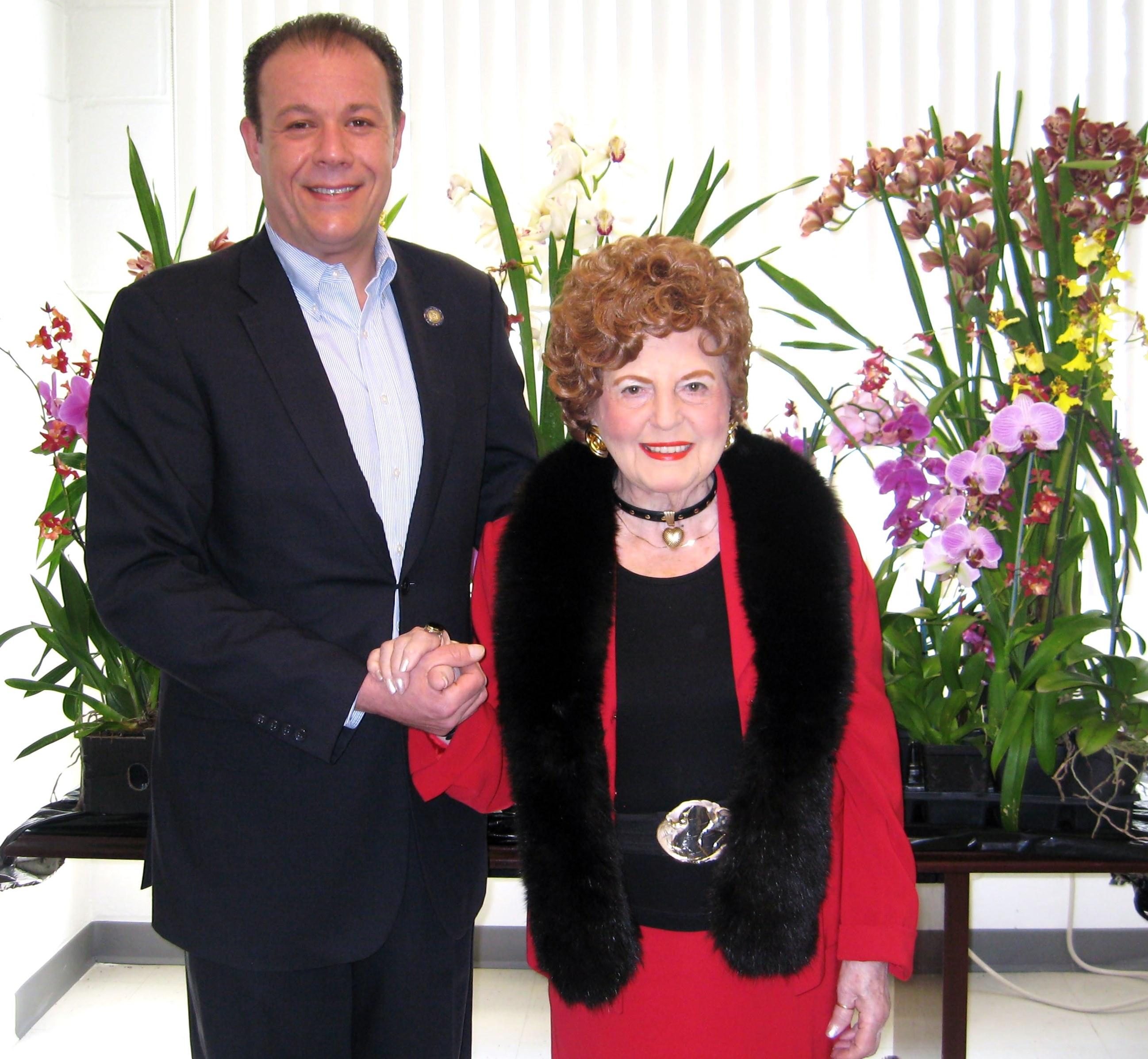 Bea and Assemblyman Gjonaj